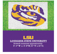 LSU Oversized Tiger Eye Yard Stencil