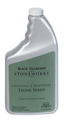 Black Diamond Limestone and Travertine Stone Wash Bottle 32 oz.