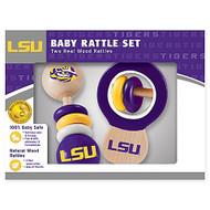 LSU Baby Rattle Set (2)