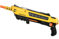 Black/Yellow Bug-A-Salt salt gun