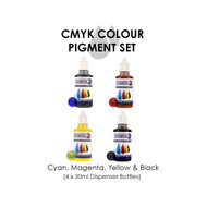 Monocure 3D Printer Resin CMYK Pigments - Set - 3D Printing Canada