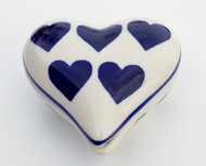 Pottery Heart Box - Valentine