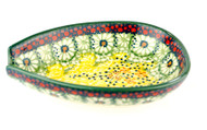 Polish Pottery Spoon Rest - Sunlit Meadow