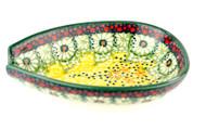 Polish Pottery Spoon Rest - Sunlit Meadow