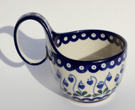 Polish Pottery Soup/Chilli Mug - Sweetheart