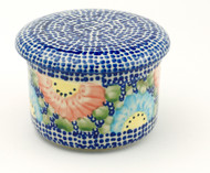 Polish Pottery French Butter - Straw Flower