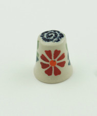 Polish Pottery Thimble- Delight