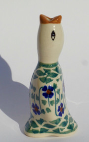 Polish Pottery Pie Bird - Rhine Valley