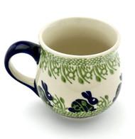 Polish Pottery Bubble Mug - Bunny Hop