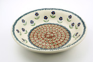 Polish Pottery Pasta Bowl - So Thoughtful