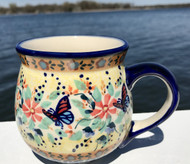 Polish Pottery Stoneware Bubble Mug-Gifts from the Garden