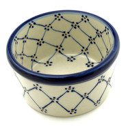 Polish Pottery Ramekin-Classic Beauty