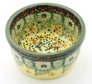 Polish Pottery Ramekin-Sunlit Meadow
