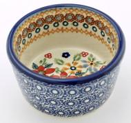 Polish Pottery Ramekin-Grandma's Garden