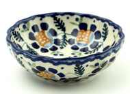 Polish Pottery Berry Bowl-Sunlit Treasure
