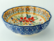 Polish Pottery Berry Bowl-Grandma's Garden