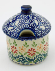 Polish Pottery Honey Pot- Delight