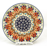 Polish Pottery Salad Plate -Friends