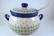 Polish Pottery Soup Tureen - Daisy