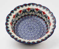"Polish Pottery 8.5"" Rim  Bowl -Regal"