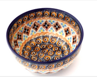 "Polish Pottery 5""Cereal Bowl- Tuscon"