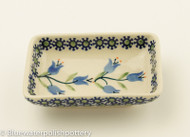 Polish Pottery Dipping Bowl- Lilly of the Valley