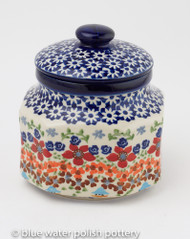 Polish Pottery 0.5L Canister - Friends