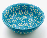 Polish Pottery Cereal - Cerulean