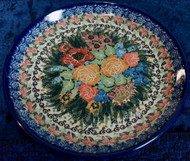 Polish Pottery Salad Plate A-List