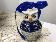Owl Ornament Frost