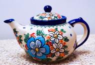 Teapot Wild Flowers