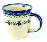 12 oz Mug Bleu Fiore