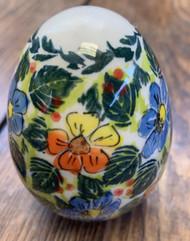 Polish Pottery Unikat Egg Ornament  Bella