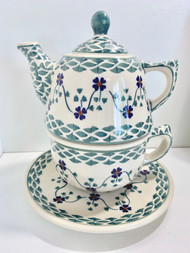 TEAPOT WITH CUP RHINE VALLEY