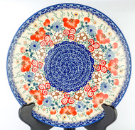 "Polish Pottery Stoneware 10"" Dinner Plate - AUDREY"