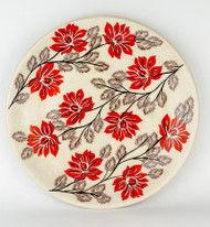 "Polish Pottery Stoneware 10"" Dinner Plate - HAMPTONS"