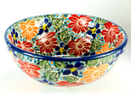 "6"" Cereal Bowl Signature Unikat Evening Bouquet"