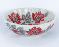 Polish Pottery Berry Bowl-Hamptons