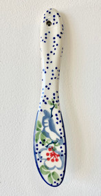 Polish Pottery Butter Knife - Ribbon