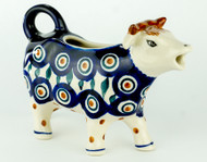 Cow Creamer  Peacock