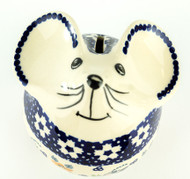 Mouse Piggy Bank Love in Bloom