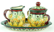 Creamer & Sugar Set Sunlit Meadow