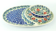 Tray & Bowl Set BUTTERFLY DELIGHT