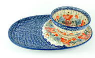 Tray & Bowl Set Audrey