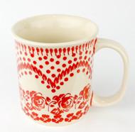 10 oz Stoneware Mug  Unikat Rose