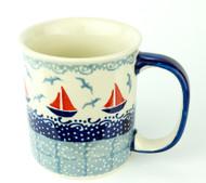 10 oz Stoneware Mug Sail Away