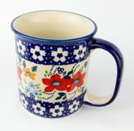 10 oz Stoneware Mug Unikat Love in Bloom