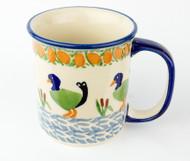 10 oz Stoneware Mug Unikat Ducks in a Row