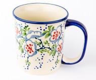 10 oz Stoneware Mug Unikat Ribbon