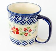 10 oz Stoneware Mug Unikat English Rose